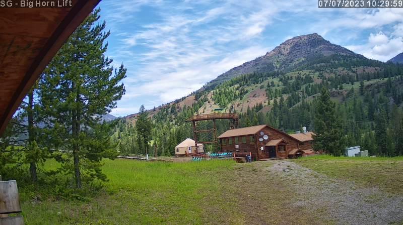 Sleeping Giant Ski Area - Big Horn Lift